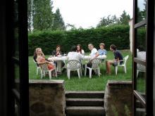 Photo d'une garden party